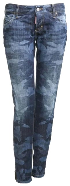 Preload https://img-static.tradesy.com/item/23105516/dsquared2-blue-medium-wash-camouflage-skinny-jeans-size-29-6-m-0-1-650-650.jpg