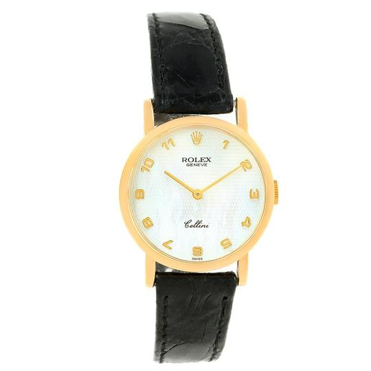 Rolex Rolex Cellini Classic Yellow Gold Mother of Pearl Dial Ladies Watch