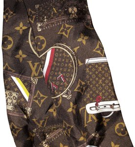 Louis Vuitton Brown monogram Bandeau Scarf