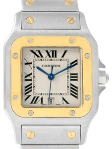 Cartier Cartier Santos Galbee Large Steel Yellow Gold Watch W20011C4