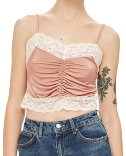Preload https://img-static.tradesy.com/item/23105805/topshop-new-ruched-satin-lace-us-tank-topcami-size-8-m-0-1-650-650.jpg