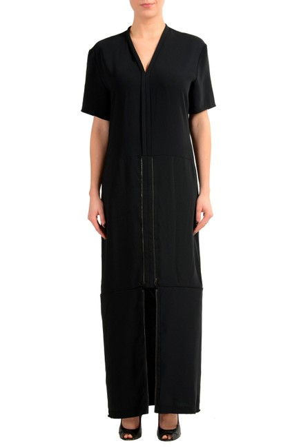 Maison Margiela Black V-8970 Long Casual Maxi Dress Size 8 (M) Maison Margiela Black V-8970 Long Casual Maxi Dress Size 8 (M) Image 1