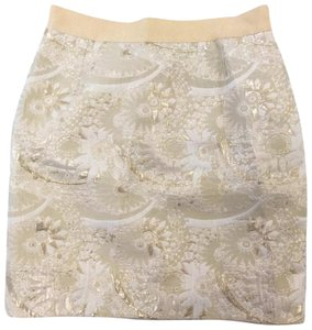 Kate Spade Mini Skirt Gold