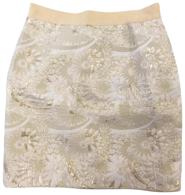 Preload https://img-static.tradesy.com/item/23105896/kate-spade-gold-brocade-metallic-floral-mini-pencil-miniskirt-size-4-s-27-0-1-650-650.jpg