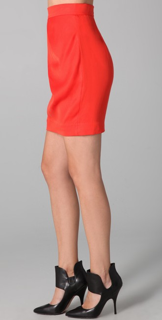 By Malene Birger Mini Skirt Orange