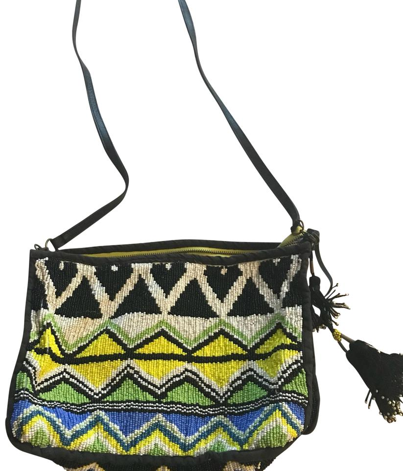2d61e1e42175 Anthropologie Jasper   Jeera From Multicolored Beaded Cross Body Bag ...