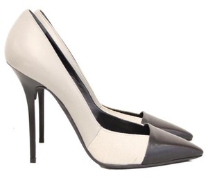 Diego Dolcini Grey, Black Pumps