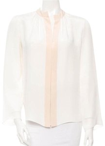 Derek Lam Top White, Peach