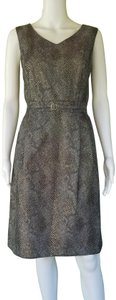 Ellen Tracy short dress Black, Gold on Tradesy