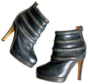 Chrissie Morris Blue Black Boots