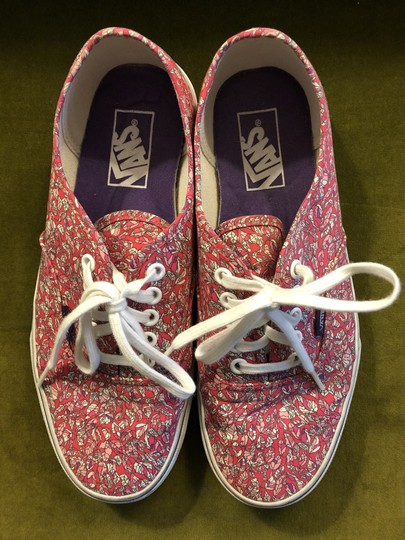 Vans Liberty Of London Liberty Lace Up Pink Athletic