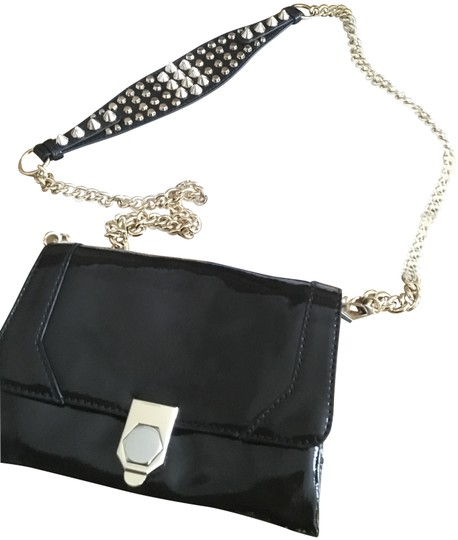 Rebecca Minkoff Studded Spike Patent Leather Cross Body Bag