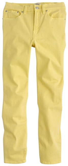 Item - Yellow Garment Dyed Lookout High Rise Skinny Jeans Size 0 (XS, 25)