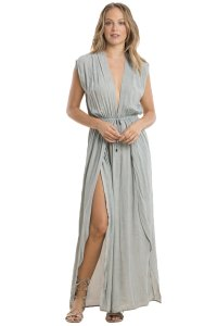 Elan Elan Deep V Maxi with Wrap