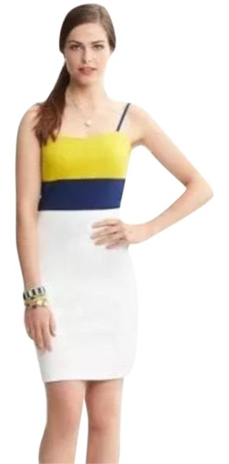 Preload https://img-static.tradesy.com/item/23106363/banana-republic-navy-and-yellow-colorblock-above-knee-cocktail-dress-size-4-s-0-1-650-650.jpg