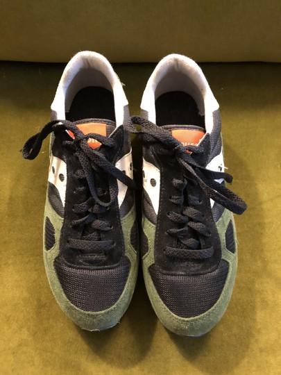 Madewell Saucony Saucony Limited Edition Saucony Shadow Black Green Orange Athletic