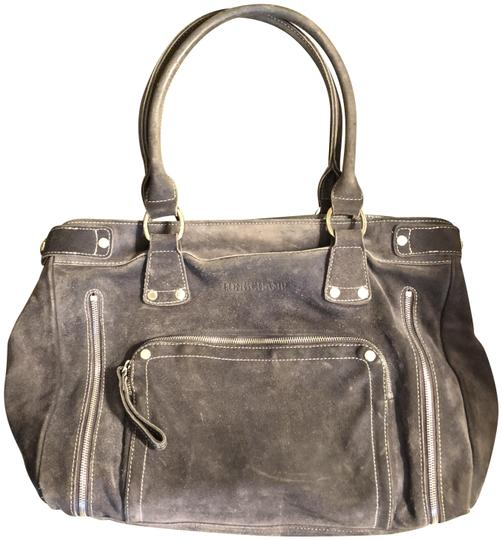 Preload https://img-static.tradesy.com/item/23106491/longchamp-rodeo-luxe-gray-suede-leather-satchel-0-1-540-540.jpg