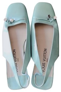 Louis Vuitton Lv Size 37 Italy Green mint Sandals
