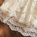 Forever 21 Ivory Lace Skirt Size 0 (XS, 25) Forever 21 Ivory Lace Skirt Size 0 (XS, 25) Image 2