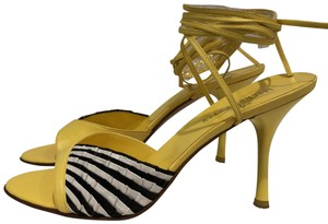 Michel Perry Yelow Sandals
