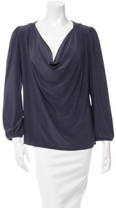 Halston Top Charcoal Grey