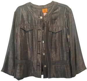 RUBY ROAD SILVER THAT SHINEY LOOK Jacket
