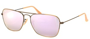 Ray Ban New Ray Ban Unisex Sunglasses RB3136 167/4K Bronze Frame Purple Lens