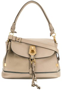 Chloé Owen Owen Owen Sienna Red Burgundy Satchel in Motty Gray
