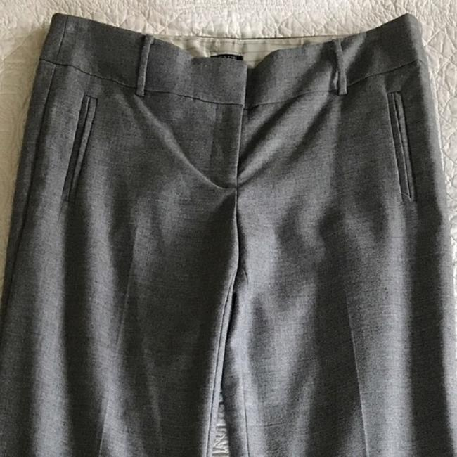 J.Crew Flannel Dress Lined Trouser Pants Charcoal Grey Image 2