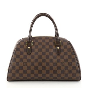 Louis Vuitton Ribera Handbag Satchel in Brown