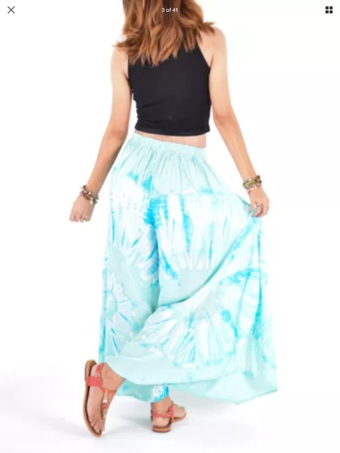 Unbranded Wide Leg Pants Blue Image 1