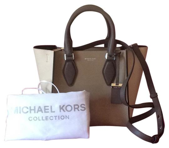 043dc8551872 Michael Kors Mk Collection Gracie Small Dune Leather Tote - Tradesy