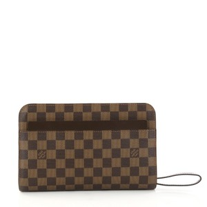 Louis Vuitton Pochette Saint brown Clutch