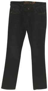 Seven7 Boot Cut Jeans-Dark Rinse