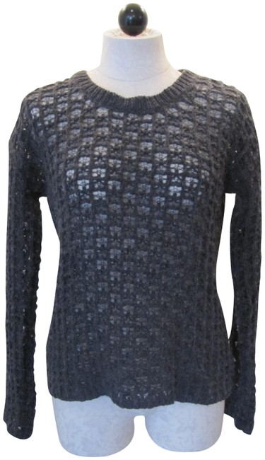 Preload https://img-static.tradesy.com/item/23107646/graham-and-spencer-charcoal-wool-blend-nubby-size-s-grey-sweater-0-1-650-650.jpg