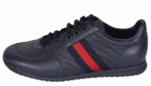 Gucci Blue New Men's 233334 Leather Gg