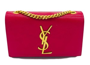 Saint Laurent Monogram Kate Small Cross Body Bag
