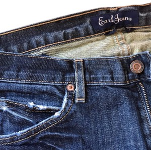 Earl Jeans Flare Leg Jeans-Distressed