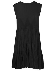ALAÏA Pleated Flare Dress