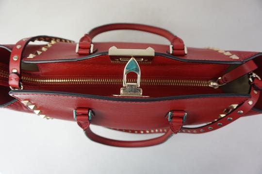 Valentino Tote in Red Image 6
