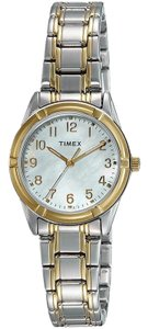 Timex TW2P76100 Easton Women Silver Steel Band With Pearl Analog Dial Watch