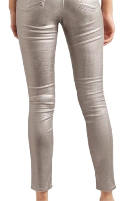 Item - Silver Coated 108879 Skinny Jeans Size 32 (8, M)