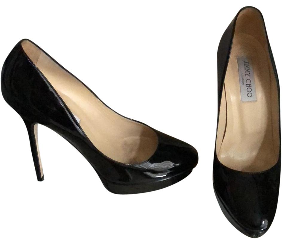 Jimmy Choo Cosmic Patent Leather Leather Patent Pumps f7dabc