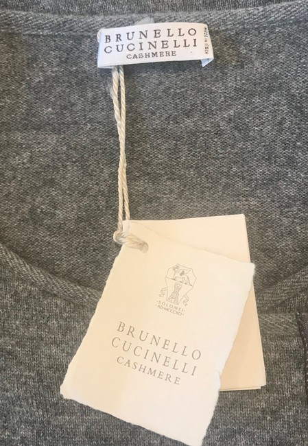 Brunello Cucinelli Cashmere Tunic Dress Sweater Image 5