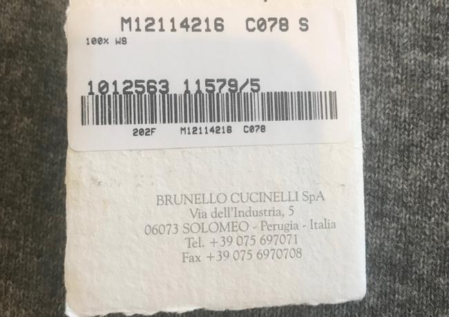 Brunello Cucinelli Cashmere Tunic Dress Sweater Image 6
