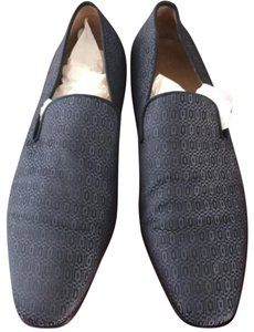 Christian Louboutin dark blue and navy blue Flats