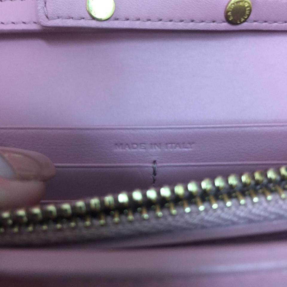 Saint Dark Rose Laurent Box Bag Pink Y Leather In Near Ligne In Ysl Shoulder Wallet Chain New qFrq0