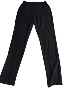 Marchesa High Work Career Latice Trouser Pants black
