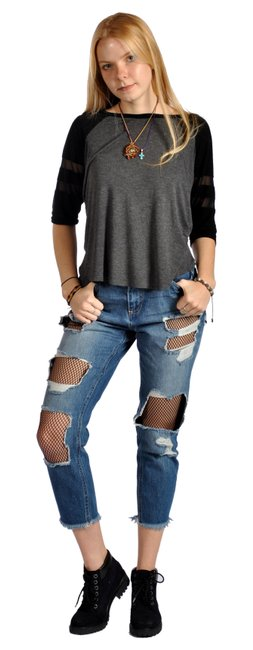 Preload https://img-static.tradesy.com/item/23108643/cello-jeans-blue-medium-wash-distressed-fishnet-mesh-inset-cutout-ankle-capricropped-jeans-size-28-4-0-0-650-650.jpg