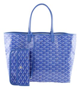 Goyard St. Louis Pm Saint Louis Pm Neverfull St. Louis Tote in Blue